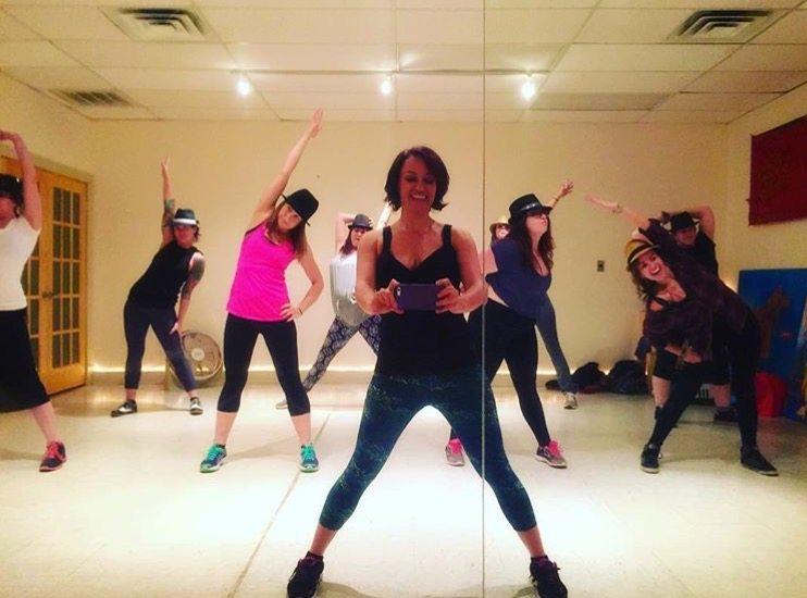 Dance class image